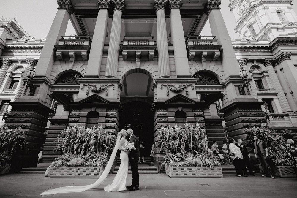 Melbourne Town Hall Wedding Photos Melbourne Town Hall Receptions Wedding Photographer Photography 191208 067