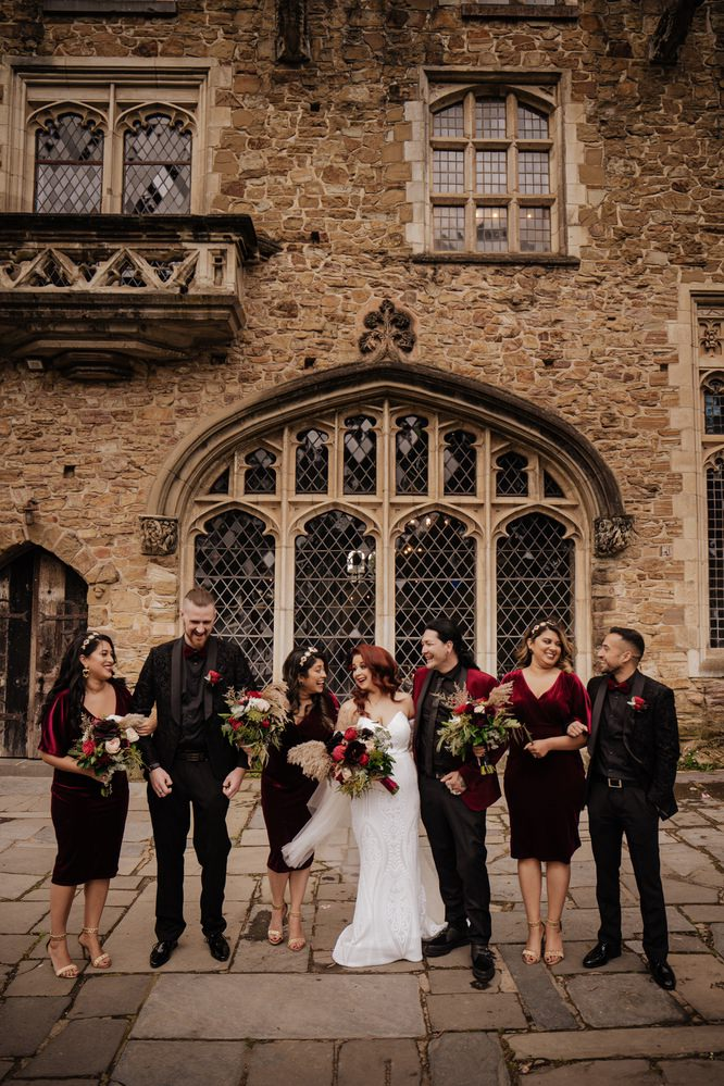 Montsalvat Wedding Photos Montsalvat Receptions Wedding Photographer Photography 014