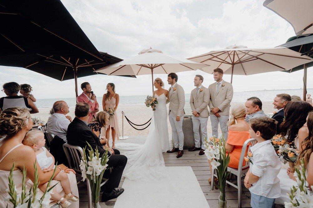 Sandbar Beach Cafe Wedding Photos Sandbar Receptions Wedding Photographer Wedding Photography Package Melbourne 160304 038
