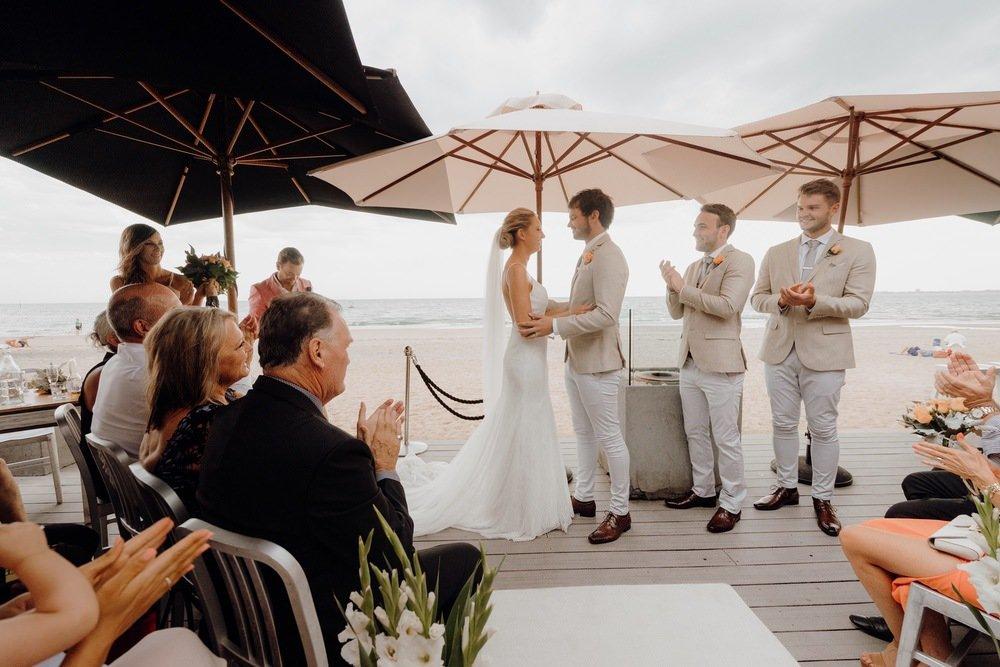 Sandbar Beach Cafe Wedding Photos Sandbar Receptions Wedding Photographer Wedding Photography Package Melbourne 160304 045