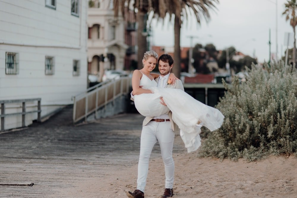 Sandbar Beach Cafe Wedding Photos Sandbar Receptions Wedding Photographer Wedding Photography Package Melbourne 160304 068